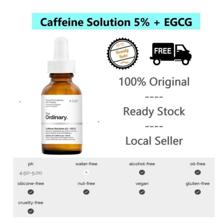 The Ordinary Caffeine Solution Review