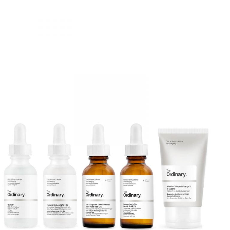 The Ordinary Skin Care Routine